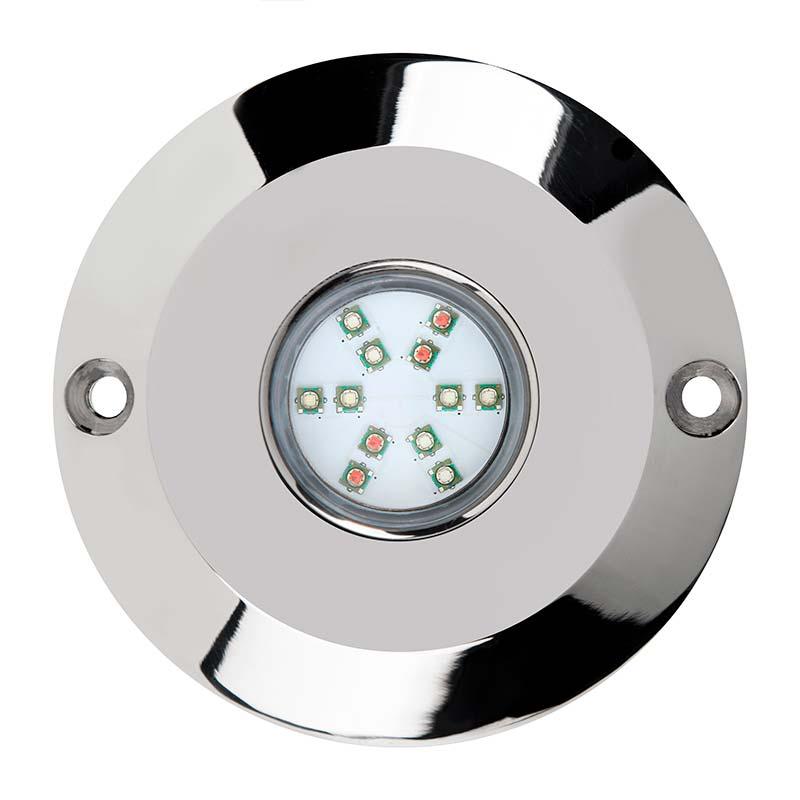 Foco sumergible kenwe led 60w rgb ip68 ledbox for Focos led a pilas